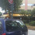 «Επική» στάθμευση στη Λάρισα (ΦΩΤΟ)