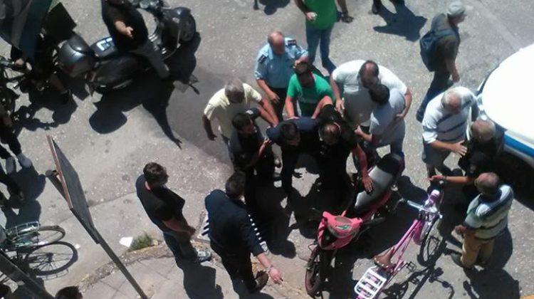 Επεισοδιακή σύλληψη επιχειρηματία στα Τρίκαλα που είχε ταμπουρωθεί στο κατάστημά του