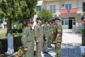 Διοικητής 1ης Στρατιάς: Επισκέφθηκε τα 304 ΠΕΒ και 307 ΤΣΥΑΥ