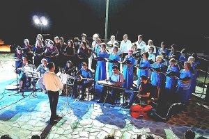 Η χορωδία του πολιτιστικού οργανισμού του Δήμου Κιλελέρ στα Αμπελάκια