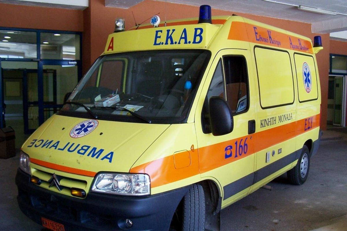 Τροχαίο με πέντε τραυματίες (φωτ.)