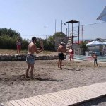 Ολοκληρώθηκε το τουρνουά Beach-Racket στο Αγιόκαμπο