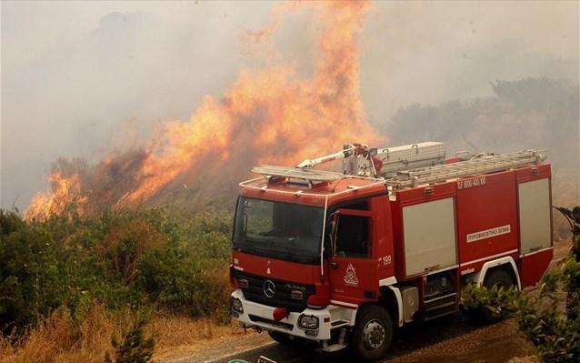 Πολύ υψηλός κίνδυνος πυρκαγιάς την Πέμπτη σε έξι Περιφέρειες