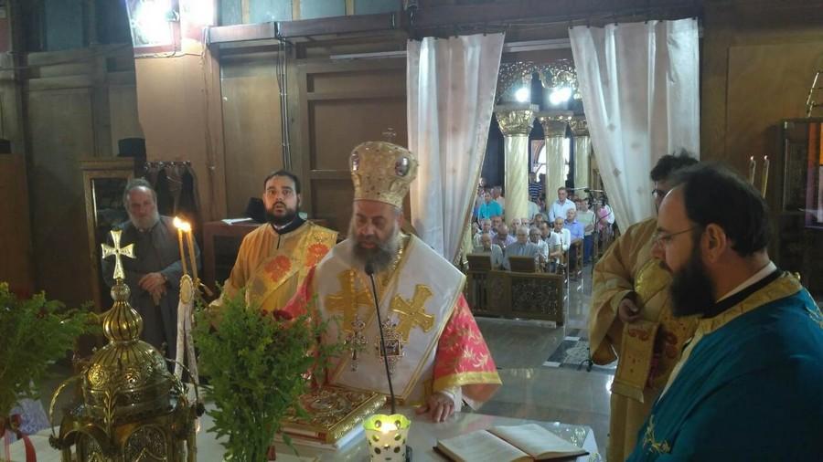Η εορτή της Υπεραγίας Θεοτόκου στον Ι.Ν Φαρσάλων