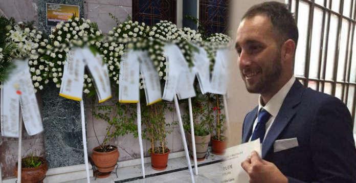 Θρήνος στην κηδεία 25χρονου που χάθηκε σε τροχαίο