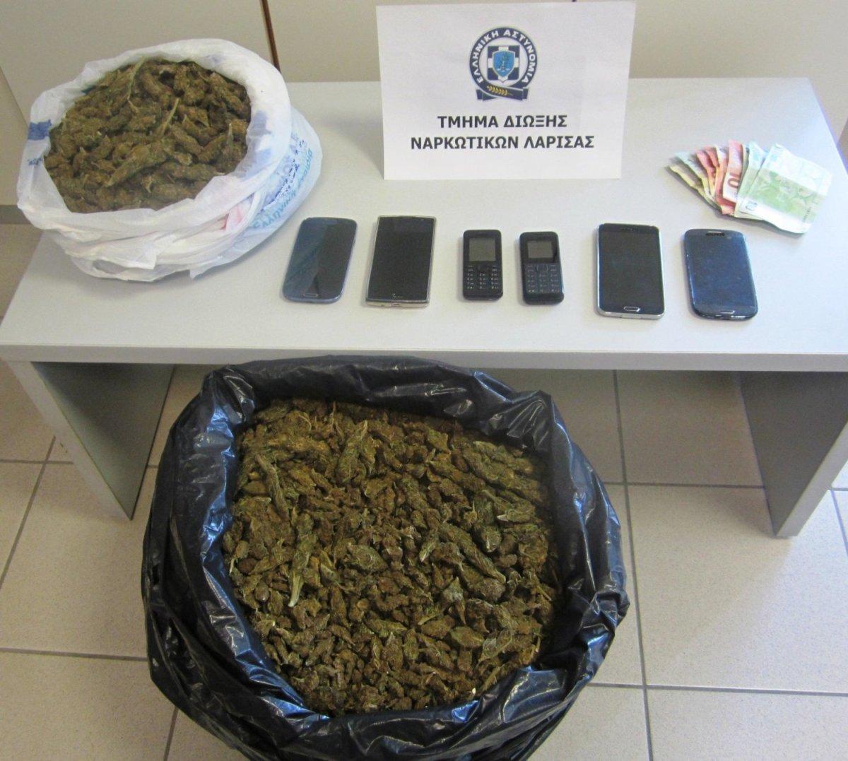 Σύλληψη τεσσάρων αλλοδαπών για ναρκωτικά