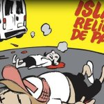 Το πρωτοσέλιδο της Charlie Hebdo για τη Βαρκελώνη διχάζει