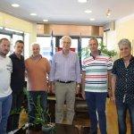 Στο δήμαρχο Απ. Καλογιάννη η νέα διοίκηση της ΕΠΣ Λάρισας