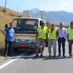 Εργασίες Διαγράμμισης στο οδικό δίκτυο της ΠΕ Λάρισας