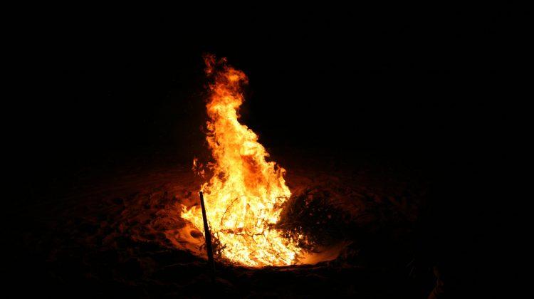 Πυρκαγιά τη νύχτα στο Νέο Περιβόλι