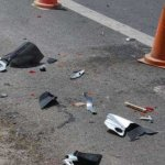 Λάρισα: Αυτοκίνητο έπεσε σε κολόνα