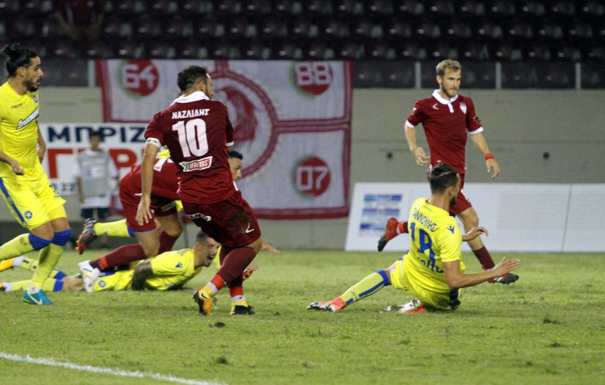 Ισόπαλο με 1-1 έληξε το παιχνίδι της ΑΕΛ με τον Αστέρα Τρίπολης στο AEL FC Arena