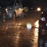 Καλοκαιρινή βροχή στη Λάρισα (φωτό)