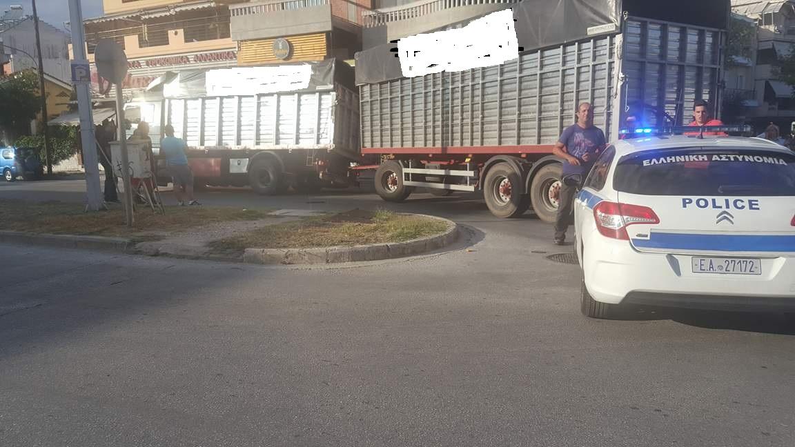 «Δεν μπορεί τα φορτηγά να περνάνε μέσα από την πόλη»