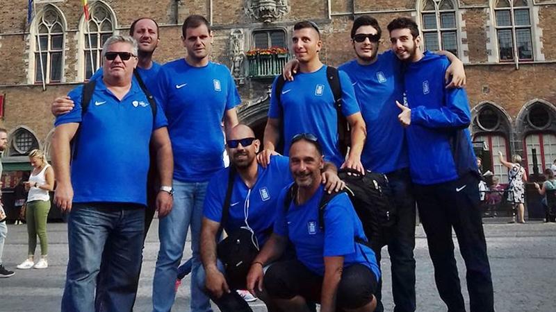 Μετάλλιο και άνοδο θα διεκδικήσει η εθνική γκόλμπολ των ανδρών στο Ευρωπαϊκό