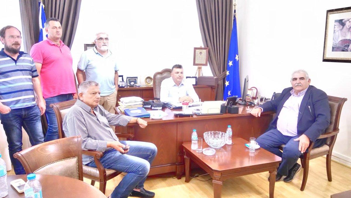 Στον δήμαρχο Ελασσόνας ο Ν. Παπαδόπουλος
