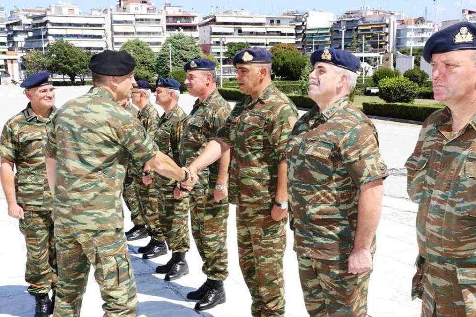 Επίσκεψη του Αρχηγού ΓΕΣ στη Λάρισα (φωτ.)