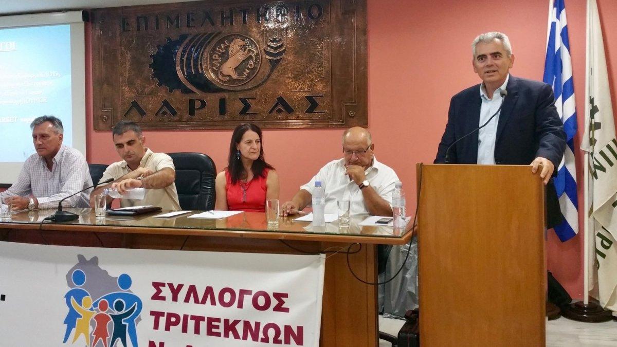 Στη γιορτή των τρίτεκνων ο Μαξ. Χαρακόπουλος