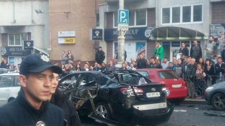 Ένας νεκρός από έκρηξη αυτοκινήτου στο Κίεβο