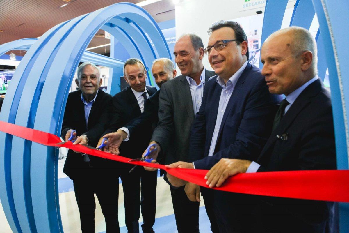 Η Αέριο Θεσσαλονίκης-Θεσσαλίας εγκαινίασε το περίπτερο της στη ΔΕΘ