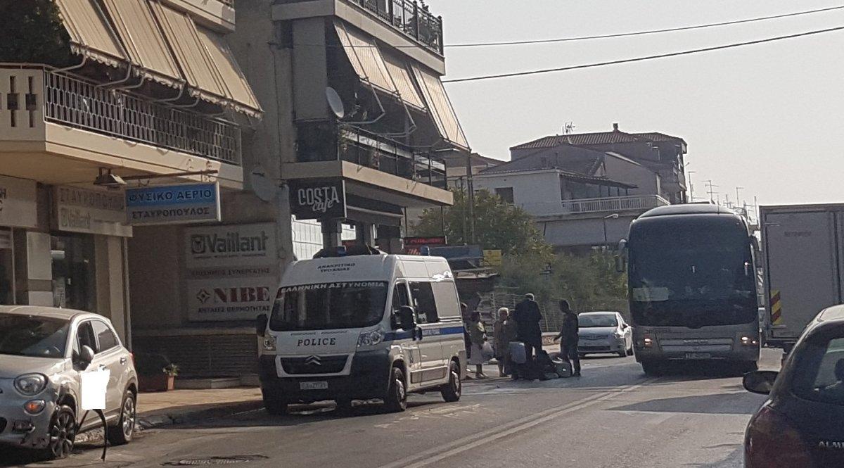 Τροχαίο ατύχημα το πρωί της Δευτέρας στην οδό Ιωαννίνων στη Λάρισα