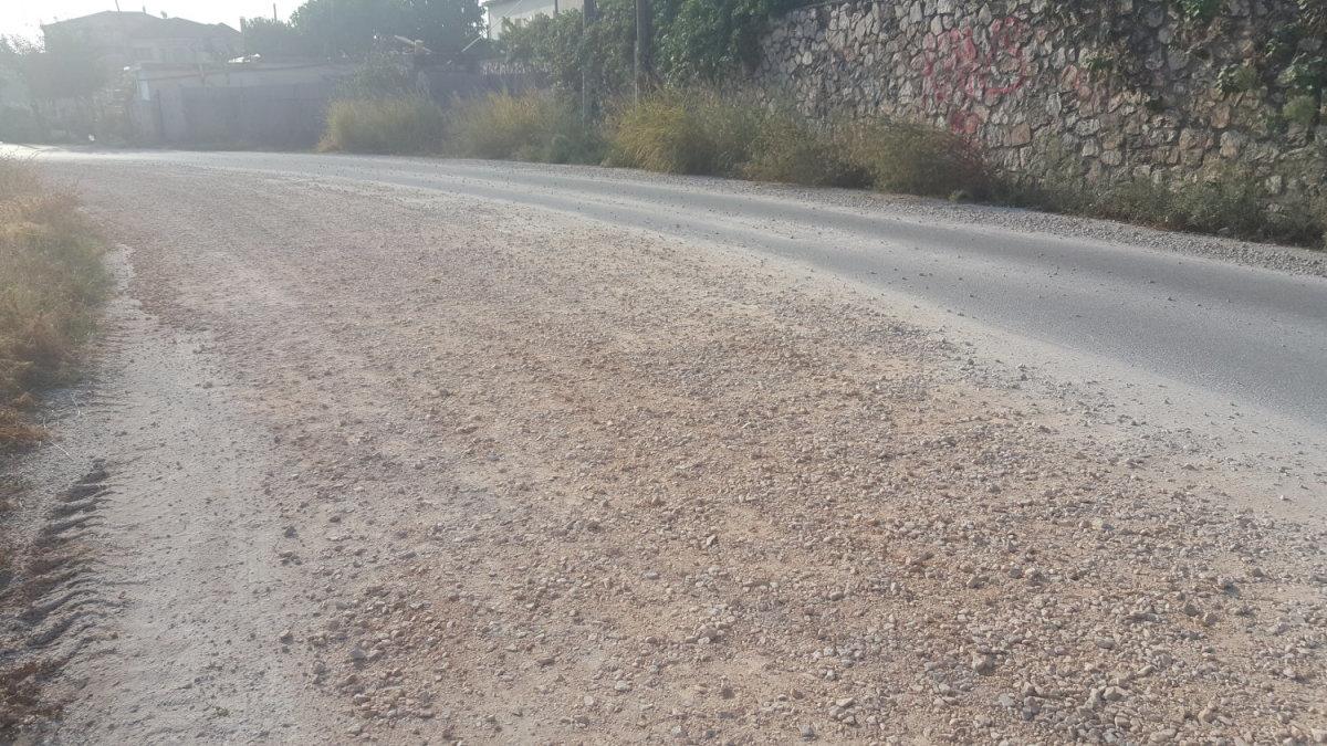 Δρόμος στη Λάρισα… 10 μήνες περιμένει ασφαλτόστρωση (ΦΩΤΟ)