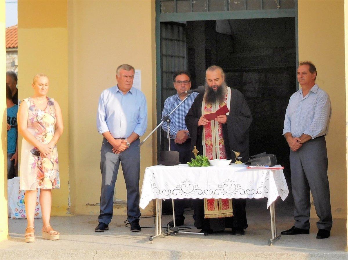 Σε σχολεία της Νίκαιας ο Νασιακόπουλος