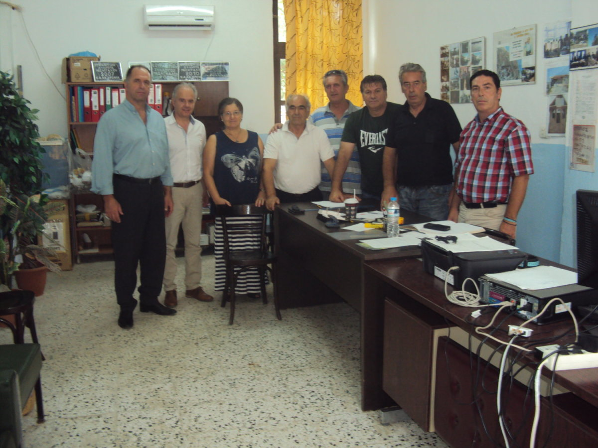 Επίσκεψη στα γραφεία του ΜΕΣ Μεσαγκάλων