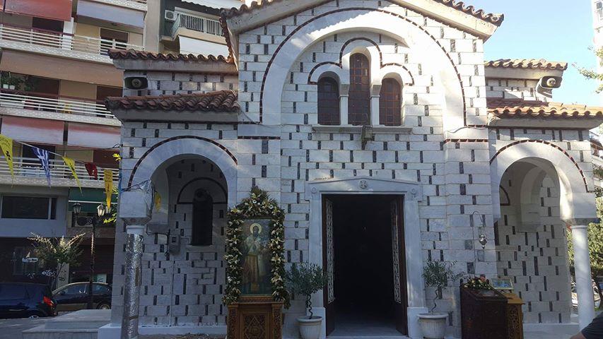 Λάρισα: Παρακλήσεις του Τιμίου Σταυρού στον Ι.Ν. Αγίου Βησσαρίωνα