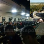 Ταλαιπωρία εκατοντάδων επιβατών τα ξημερώματα στο Λιανοκλάδι (ΦΩΤΟ)