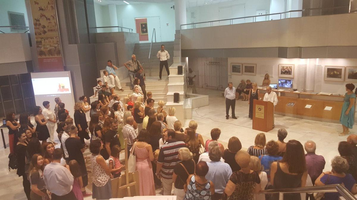 Στη Δημοτική Πινακοθήκη η έκθεση «4 τέχνες στο Ελεύθερο Εργαστήρι»