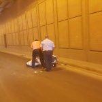 Λάρισα: Τροχαίο στην υπόγεια διάβαση της οδού Εχεκρατίδας (ΦΩΤΟ)