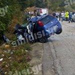 Νεκροί δύο σμηνίτες σε τροχαίο στα Παλιάμπελα Βόνιτσας