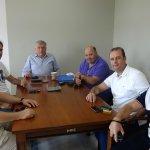 Συνάντηση Δ. Μπουχλαριώτη με Θ. Νασιακόπουλο