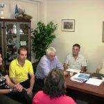 Σύσκεψη στο δημαρχείο Τεμπών ενόψει του αναπτυξιακού συνεδρίου Θεσσαλίας
