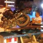 Νεκρός 21χρονος σε τροχαίο με μηχανή (ΦΩΤΟ)