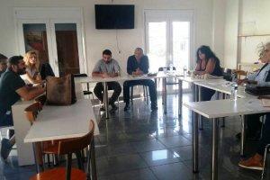 Συνάντηση βουλευτών του ΣΥΡΙΖΑ με ΦΟΔΙΚΑ