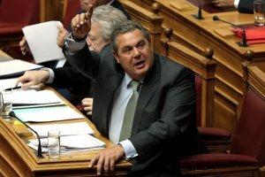 Βουλή: Καταψηφίστηκε η πρόταση για σύσταση εξεταστικής για τον Π. Καμμένο