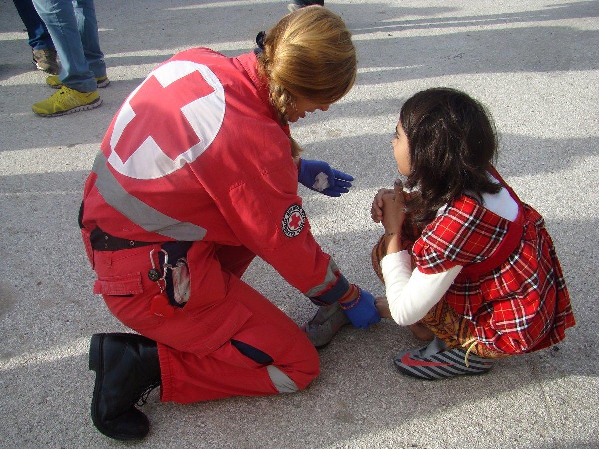 Σεμινάρια Πρώτων Βοηθειών από τον Ερυθρό Σταυρό Λάρισας