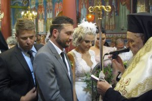 O γάμος της κόρης του Μέγα… (φωτ.)