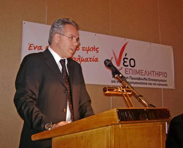 """Ο Βασίλης Ζάρκος δηλώνει: """"Κομματική η υποψηφιότητα του Δημήτρη Αδάμ στο Επιμελητήριο"""""""