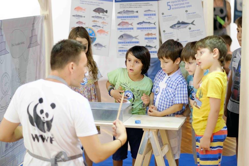 Σε Λάρισα και Βόλο η η WWF Ελλάς ενημερώνοντας για την υγιεινή διατροφή των παιδιών και το περιβάλλον