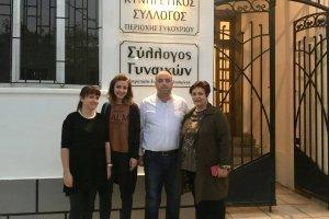 Τρόφιμα από τον εξωραϊστικό σύλλογο Καστρί Λουτρό και τον Σύλλογο Γυναικών Συκουρίου