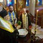 Αγιασμός στο Εσπερινό Κήρυγμα της Παναγίας Φανερωμένης Τυρνάβου
