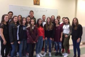Ευρωπαϊκή διάκριση για μαθητές του Γυμνασίου Δομένικου
