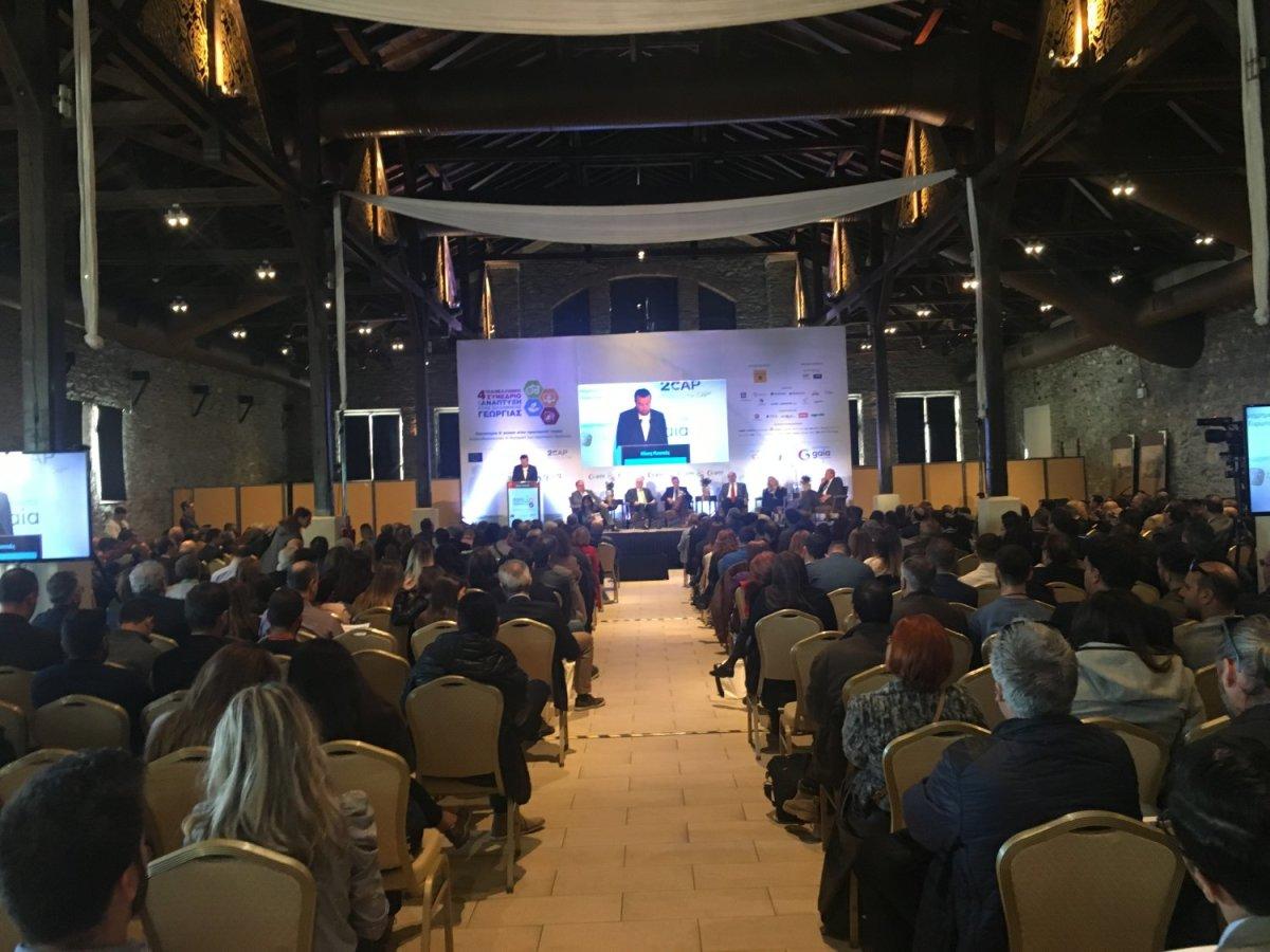 """Ολοκληρώνεται με εκατοντάδες συμμετεχόντων το """"4ο Πανελλήνιο Συνέδριο για την Ανάπτυξη της Ελληνικής Γεωργία"""" της GAIA ΕΠΙΧΕΙΡΕΙΝ"""