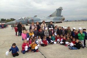 Ο 5ος Παιδικός Σταθμός Λάρισας στην Αεροπορία…