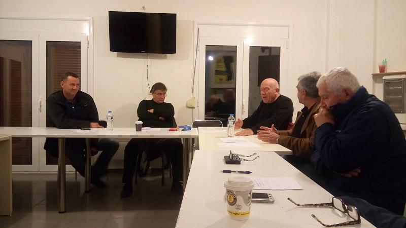 Συνεδρίαση Αγροτικού Τμήματος ΣΥΡΙΖΑ Λάρισας