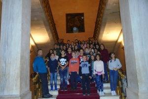 Μαθητές 3ου Δημοτικού Σχολείου Λάρισας στην Αθήνα