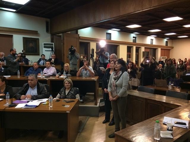 Ενταση και διαπληκτισμοί στο Δημοτικό Συμβούλιο Βόλου